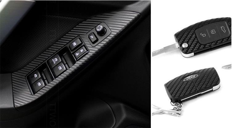 3D Black 152cmX50cm carbon fiber vinyl film/ carbon fibre sticker --10 color option FREESHIPPING car sticker carbon wrap vinyl(China (Mainland))