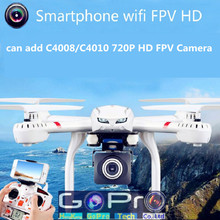 One Key Return Drone MJX X101 FPV Quadcopter with C4008/C4010 Wifi HD Camera Real Time Video RC Helicopter Vs JJRC H12C H11D X8W(China (Mainland))