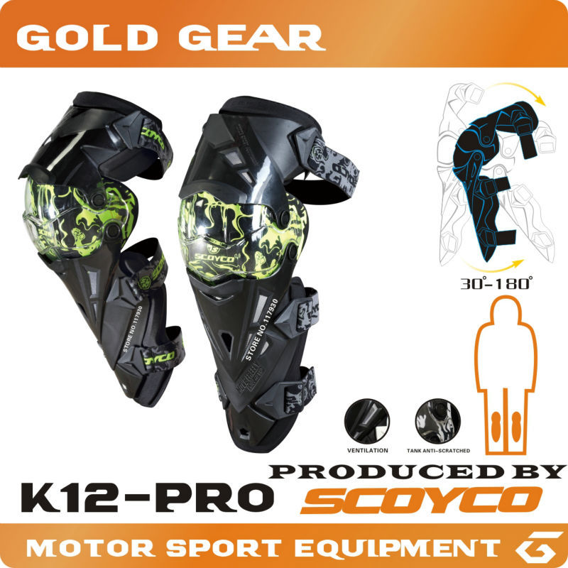 Protective Gears>SCOYCO K12 Motorcycle Protective kneepad Motorcycle Knee Protector Sports Scooter Motor-Racing Guards Safety(China (Mainland))