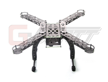 Gleagle MERCURY-X4.0 Carbon Fiber Quadcopter frame RC drone without any electronic equipment