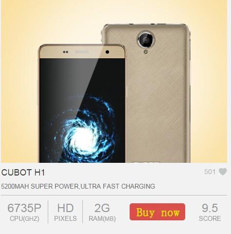 cubot h1