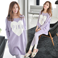New Spring Autumn Maternity Dress With Pants Plus Size Clothes for Pregnant Women Clothing for Pregnancy