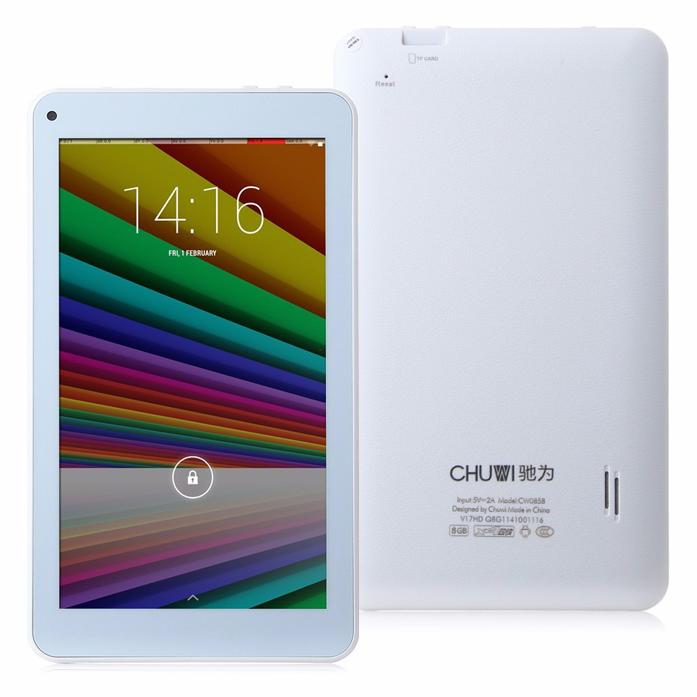 Планшетный ПК CHUWI V17HD 7/ips Android 4.4 RK3128 8GB WiFi OTG 1