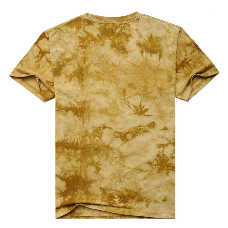 HTB1ka.GJXXXXXb6XFXXq6xXFXXXS - 2017 Men 3D T Shirt Animal Short Sleeves Cotton O-Neck Tiedye Personalized T-Shirt Water Printed Tee Shirts T-Shirts Clothes A8