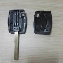 2 pcs lot Cheap Remote Key Case Flip Car Key Shell Transponder key Cover for Ford
