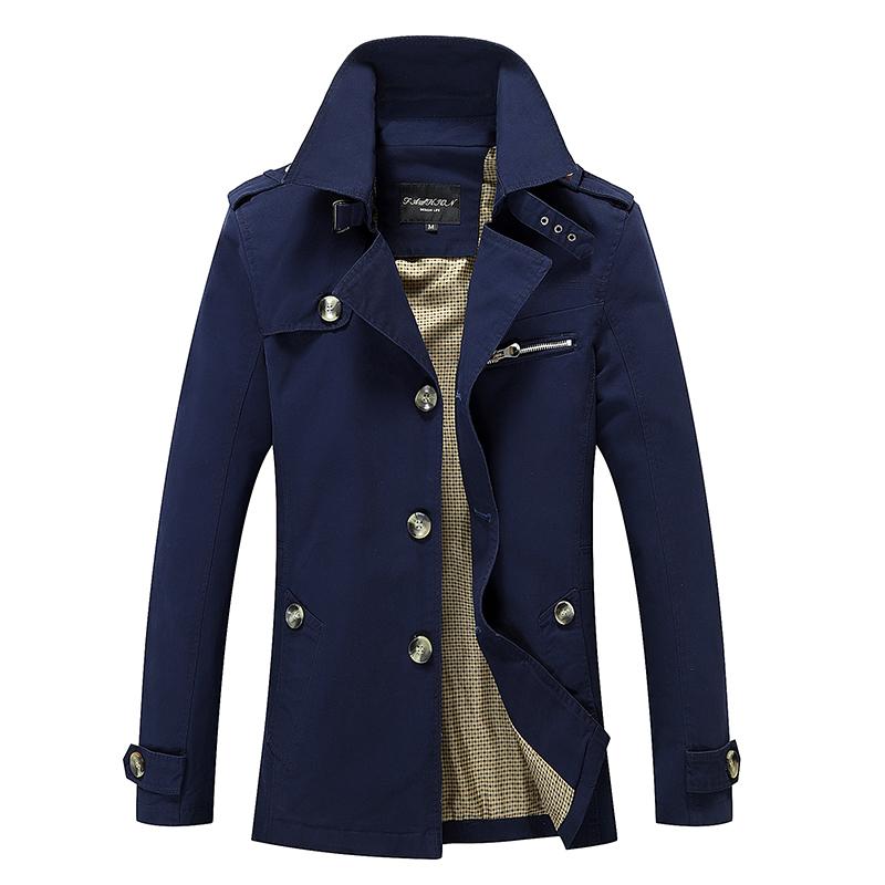 Men's Jacket jacket coat spring and autumn men jacket casual washed long outerwear coats mens cotton jackets winter down parka(China (Mainland))
