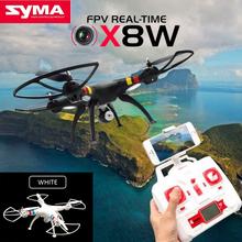 Black Syma X8W 2.4G 4ch 6-Axle Gyro RC Quadcopter Drone RTF 2MP Wide Angle FPV Camera RC Quadcopter RTF