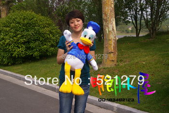 Free shipping 1pcs 70cm stuffed Donald Duck Daisy /High quality Plush Stuffed toys /stuffed Mickey mouse soft toys/Wedding gifts