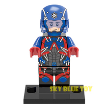legoelieds Single Sale Minifigures DC Marvel Super Hero Avengers x-men Batman deadpool harley quinn Building Blocks Set Toys(China (Mainland))