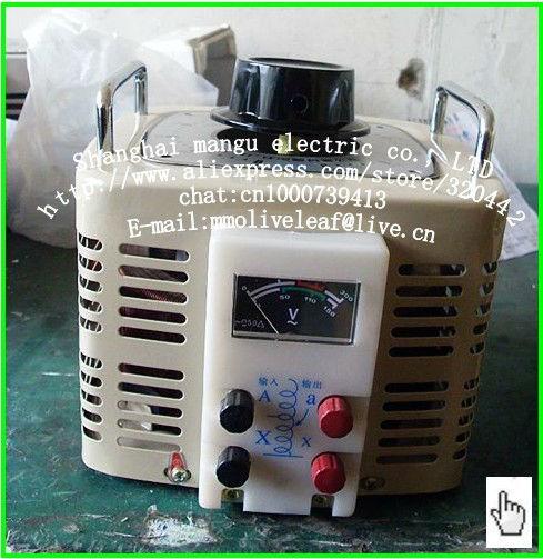 Voltage regulator 220 v 0-300 - v adjustable transformer 3000w single-phase TDGC2 3Kva(China (Mainland))