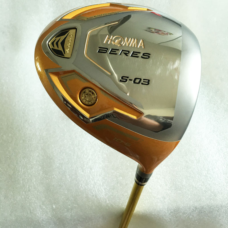 New Mens Golf clubs Honma S-03 4 star Golf driver 9.5/10.5 degree with Golf graphite shaft&Headcovers driver clubs Free Shipping(China (Mainland))