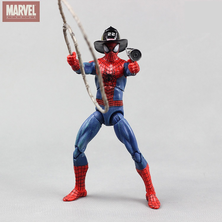 Animation Garage Kid The Amazing Spider-Man Toys: MARVEL Action Figure PVC Dolls Andrew Garfield&Peter Parker Model Best Gifts(China (Mainland))