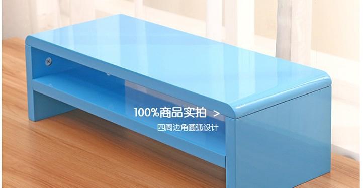 Paint liquid crystal display increased shelf bracket double desktop keyboards storage rack shelving child<br><br>Aliexpress