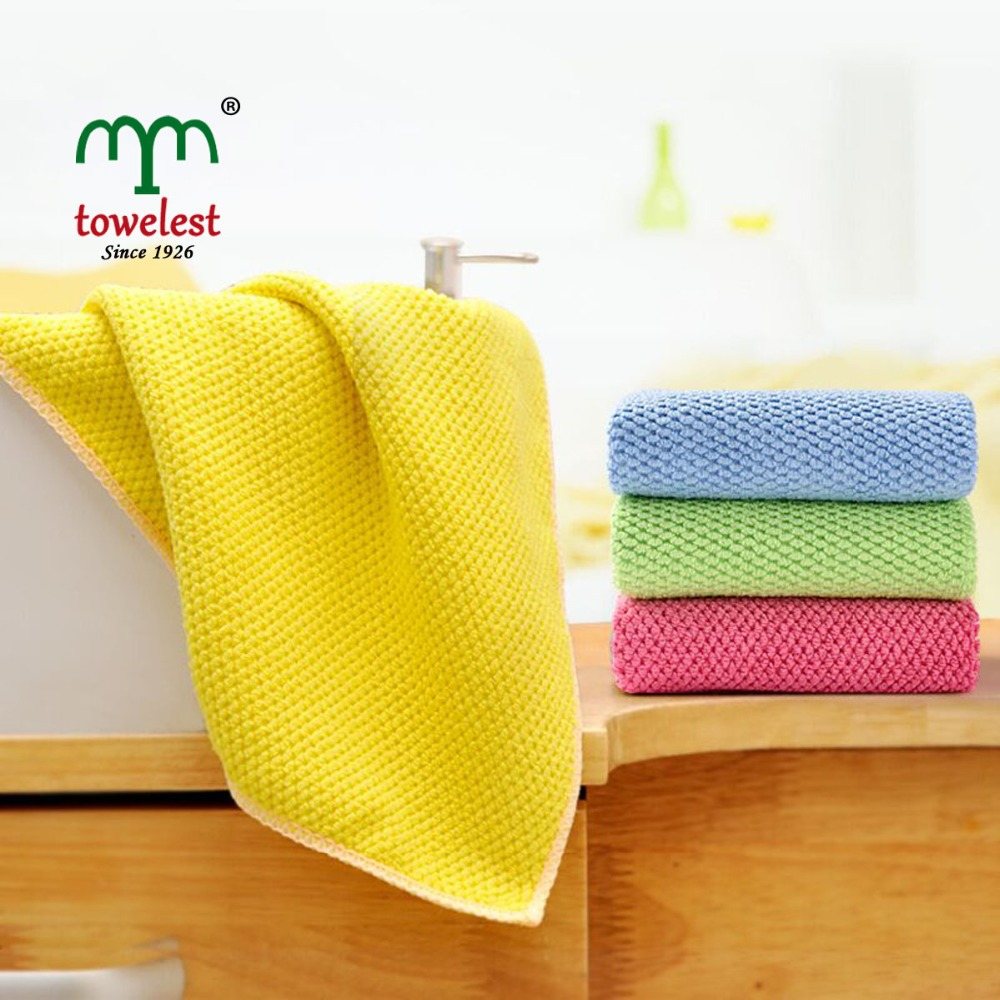 MMY 2016 NEW Kitchen Towel-- 4PC/lot 35*35CM Microfiber Cleaning Cloth Household Dishcloth/pano de prato 130034(China (Mainland))