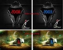 Relogio Masculino nuevo reloj LED Cobra Ou Geya últimos modelos de explosión moda Digital reloj deportivo 4 colores