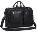 4USE 100 Cowhide Genuine Leather Men s Travel Bag Leather Duffle Bag Big Luggage Bag Carry