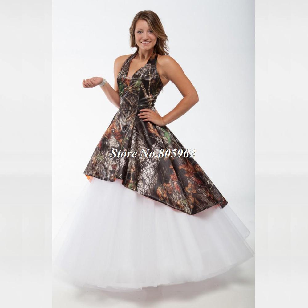 Fashionable vestidos de novia 2015 ball gown camo wedding for Camo wedding dress prices