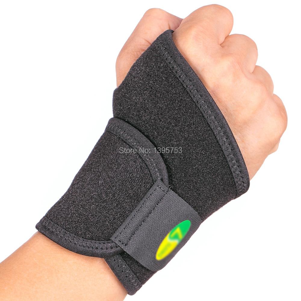EgoeLife Breathable Neoprene Wrist Brace Wrist support one size fit most Wrist wraps Palm Wrist Strap Hand Wrap Support Brace(China (Mainland))
