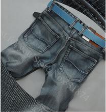 100% brand jeans 2015 Cotton  fashion designer High Qualtiy Men Jeans denim pants  jeans wholesale High quality jeans Plus size (China (Mainland))