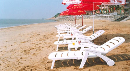Playa tumbona tumbona plegable ligera silla de playa ocio for Tumbona plegable playa