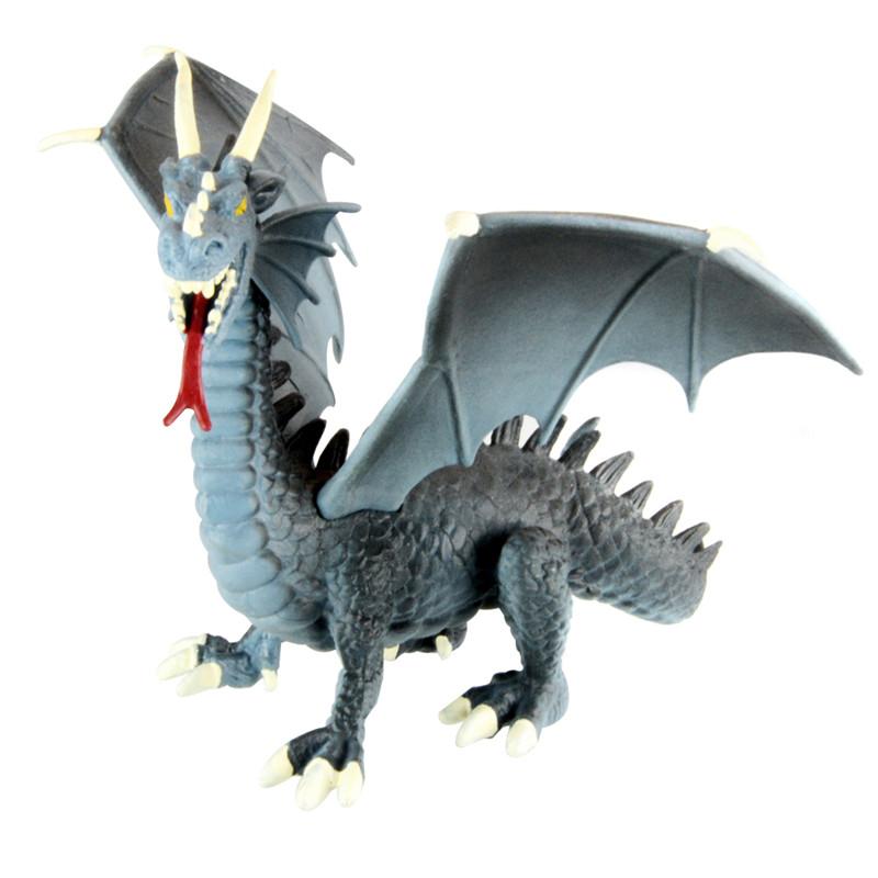 Starz 1/100 Western Fire Dragon Action Figures Plastic Toys PVC Dinosaur Model Boys Gift for Kids(China (Mainland))