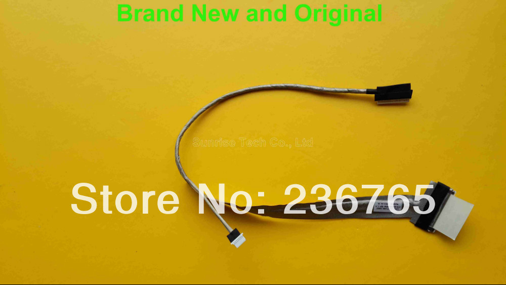 Brand New and original LVDS LCD Cable for HP 500 510 520 530 laptop cable HP 500 LVDS cable DC02000DY00(China (Mainland))
