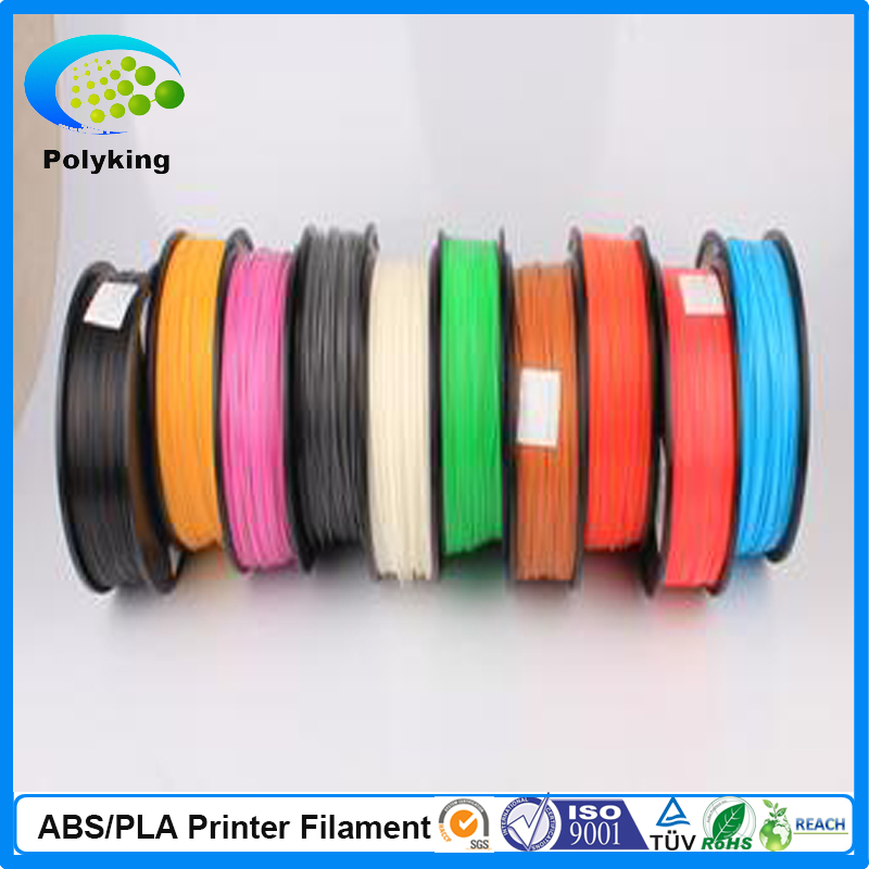 Hot sale CE Certificate abs filament 1 75mm filament for 3d printer extruder in china