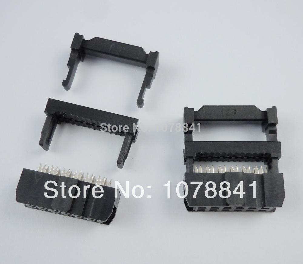 100 Pcs Per Lot 2.54mm Pitch 2x6 Pin 12 Pin IDC FC Female Header Socket Connector от Aliexpress INT