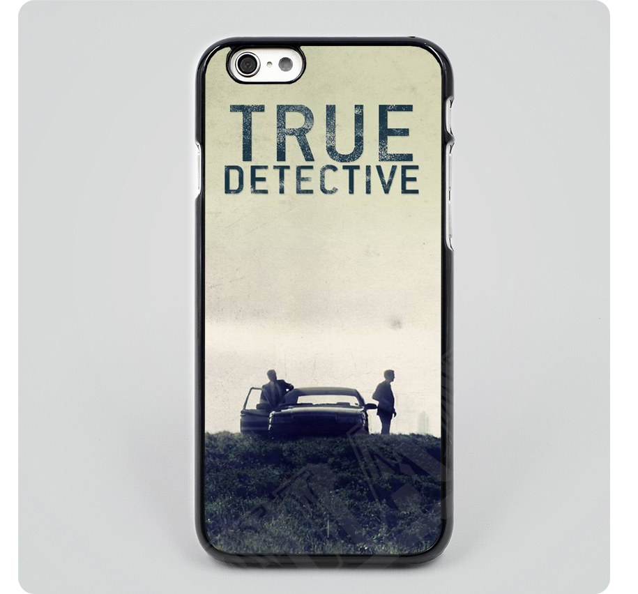 New HBO show called True Detective Hard Black Back Plastic phone Cases Cover For iPhone 4 4s 5 5s 5c 6 6 Plus Free Shipping(China (Mainland))