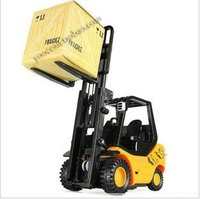 1:20 6CH mini remote control forklift funny construction vehicles kids electric rc toys children creative gift + free shipping