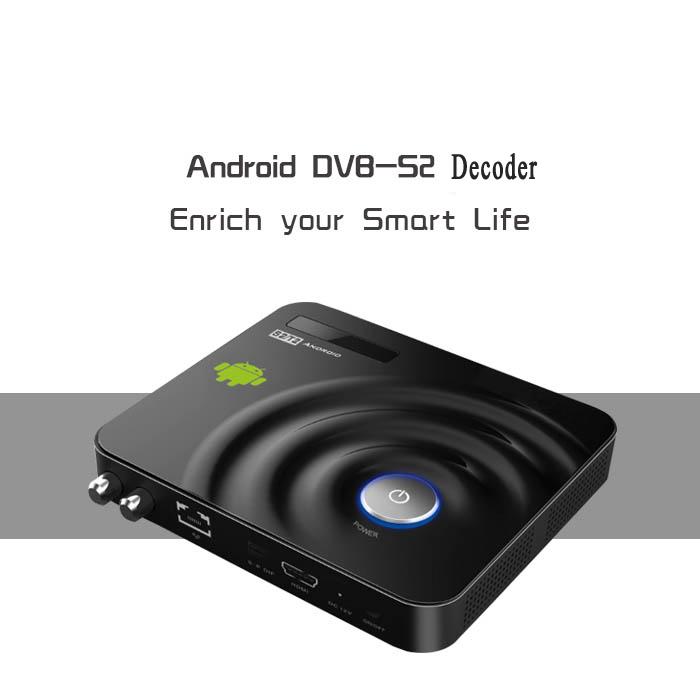 Android DVB-S2 decoder Amlogic8726-MX Android 4.2 Smart TV Box Satellite Receiver support CCCam Newcam IPTV H-Share XBMC DVB S2(China (Mainland))