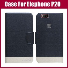 Buy Elephone P20 Case New Arrival 5 Colors High Flip Leather Exclusive Phone Cover Case Elephone P20 Case for $3.90 in AliExpress store