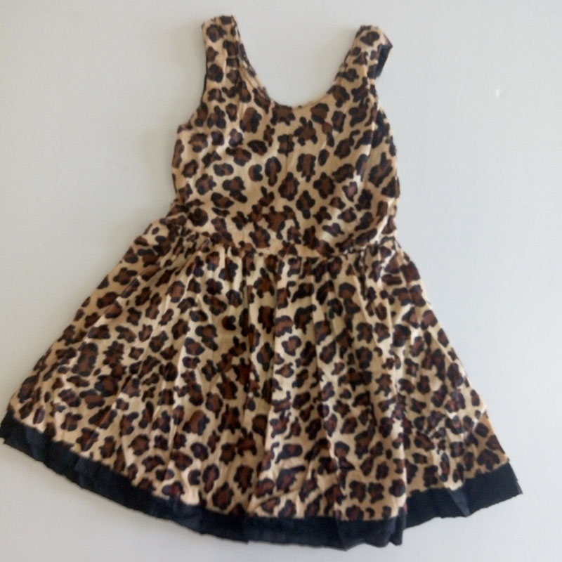 2016 Summer Autumn Clearance Special Offer New Fashion Style Kids Girls Clothes Next Baby Girl Dress Leopard Princess Dresses(China (Mainland))