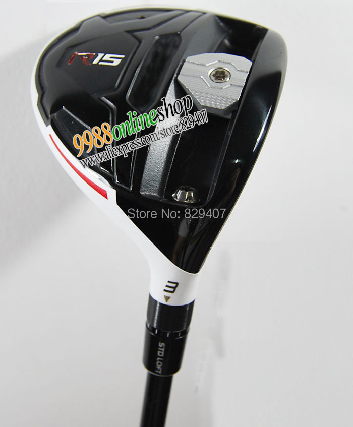 New golf clubs R15 golf wood set 3.5 Golf Fairway Woods with R15 graphite shaft&club HeadCover Golf wood clubs Free Shipping(China (Mainland))