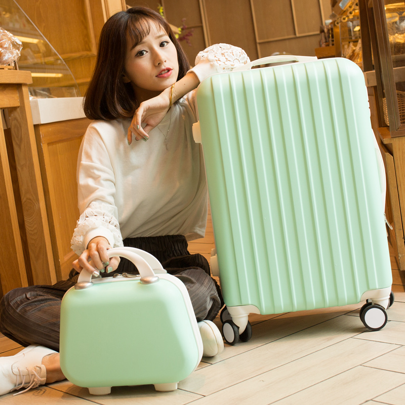 "20 inch""24 inch"" inches luggage sets, universal wheels trolley, fashion ABS plastic travel bag, password box, suitcase suit"""