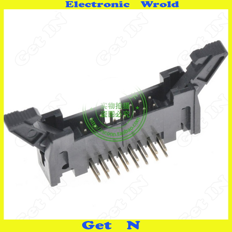 """5pcs """"3432-660T02TC Genuine Spot 3M Connector 40P Free Solder Type Adapter IDC DC2 Horns Socket 3M Connector """"(China (Mainland))"""