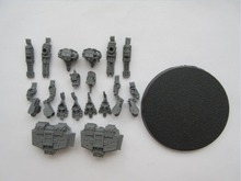 EPIC IMPERIAL WARHOUND TITANS PAINTED Resin Model Free Shipping(China (Mainland))