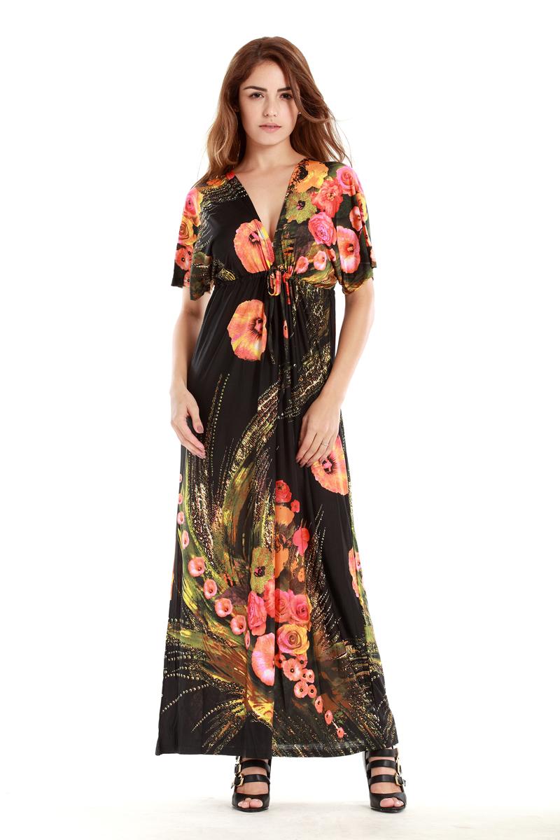 2016 Bohemia large size sexy silk women summer dress XL-4XL Beach Resort maxi dress leopard print stripe special selling(China (Mainland))