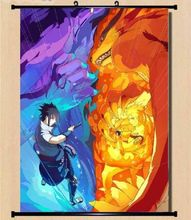 Naruto Itachi Uzumaki Sasuke Wall poster Scroll Home Decor Japanese 07