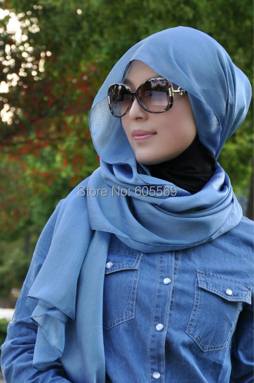 rs165 popular boutique islamic scarf same model as Shila Amzah with assorted colors for free shipping(China (Mainland))