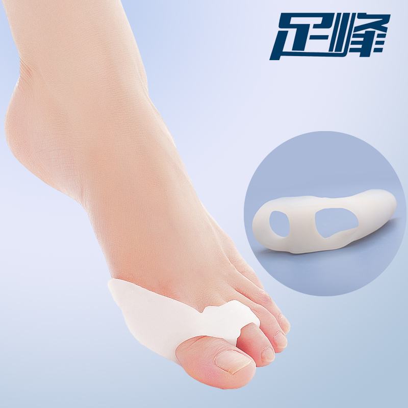 4pairs Feet Care Thumb Silicone Gel Toe Bunion Guard Footcare Toe Finger Toe Separator Foot Care Tool(China (Mainland))