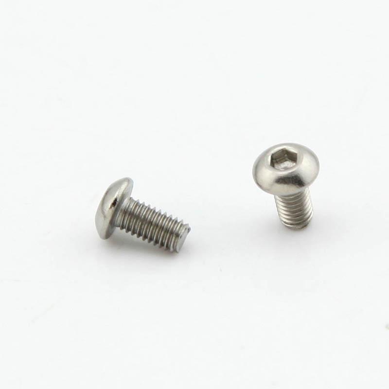 Гаджет  Pack of 100pcs M3*6MM Button Head Hex Socket Cap Screws 304 Stainless Steel Bolts  None Аппаратные средства