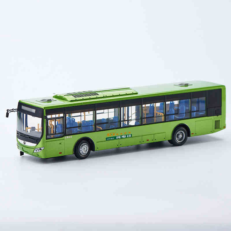 Green 1:43 Yutong E12 Rectrl Hybrid Electric City Bus High Simulation Alloy Toy Bus Models Passenger Station Wagon Diecast(China (Mainland))