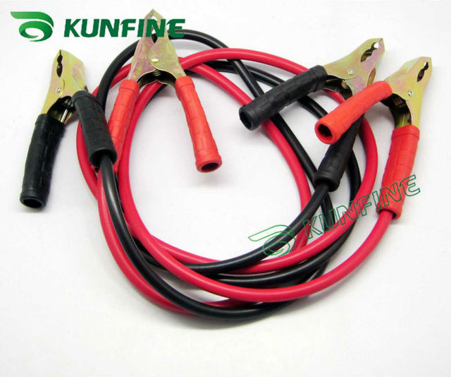 Free shipping  Wholesale price car booster cable 500Ampere 2meters long