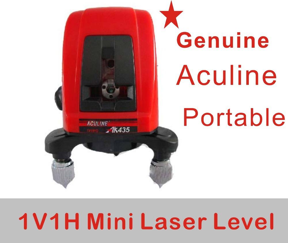 Aculine AK435 Self-leveling line laser, crossline laser, 1V1H portable mini laser, laser level 360<br><br>Aliexpress