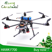 New arrival SkyhawkRC F700 Hexacopter multirotor Radios control UAV professional drones GPS controller carbon fiber quadcopter