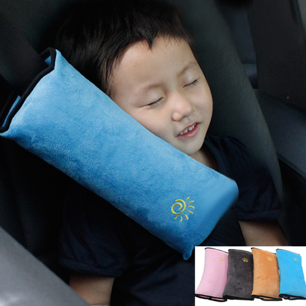 New Multicolor Baby Car Auto Safety Seat Belt Harness Shoulder Pad Cover Children For Protection Covers Cushion Support Pillow(China (Mainland))