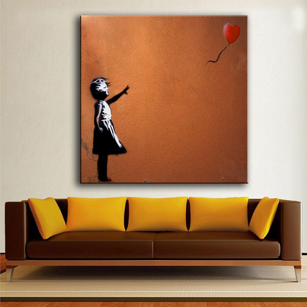 Online kopen wholesale picture of a red balloon uit china picture of a red balloon groothandel - Deco schilderij slaapkamer jongen ...