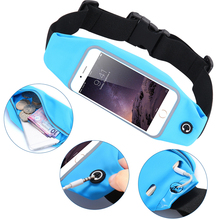 Universal 4.7inch Waterproof Sports Running Waist Pocket Belt Case For iPhone 4S 5S 6S For Samsung S5Mini A3 J1 For HTC M7 Cover(China (Mainland))