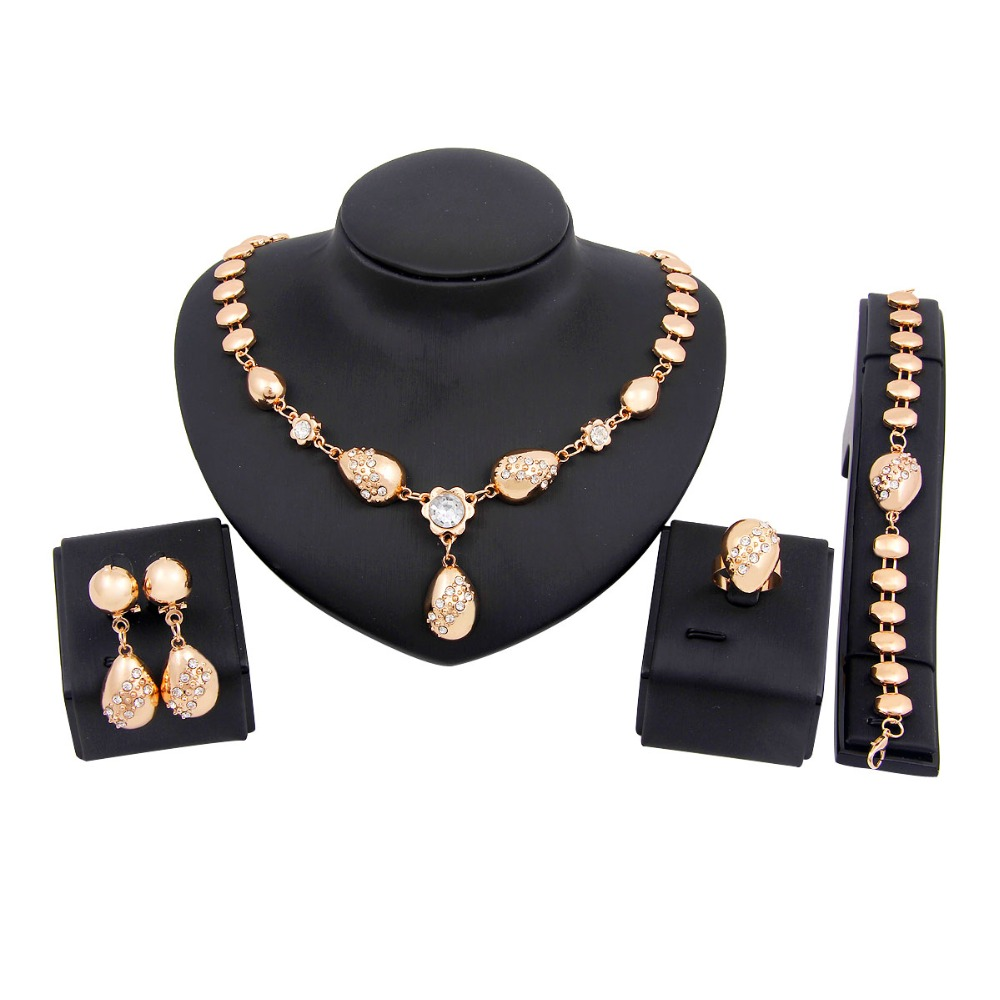 low price african costume jewelry sets gold plated fashion ...